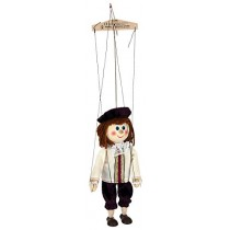 ABA aba63204 20 cm weiß Holz Prince Marionette