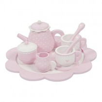 LITTLE DUTCH LD4365 Holz Tee-Set rosa